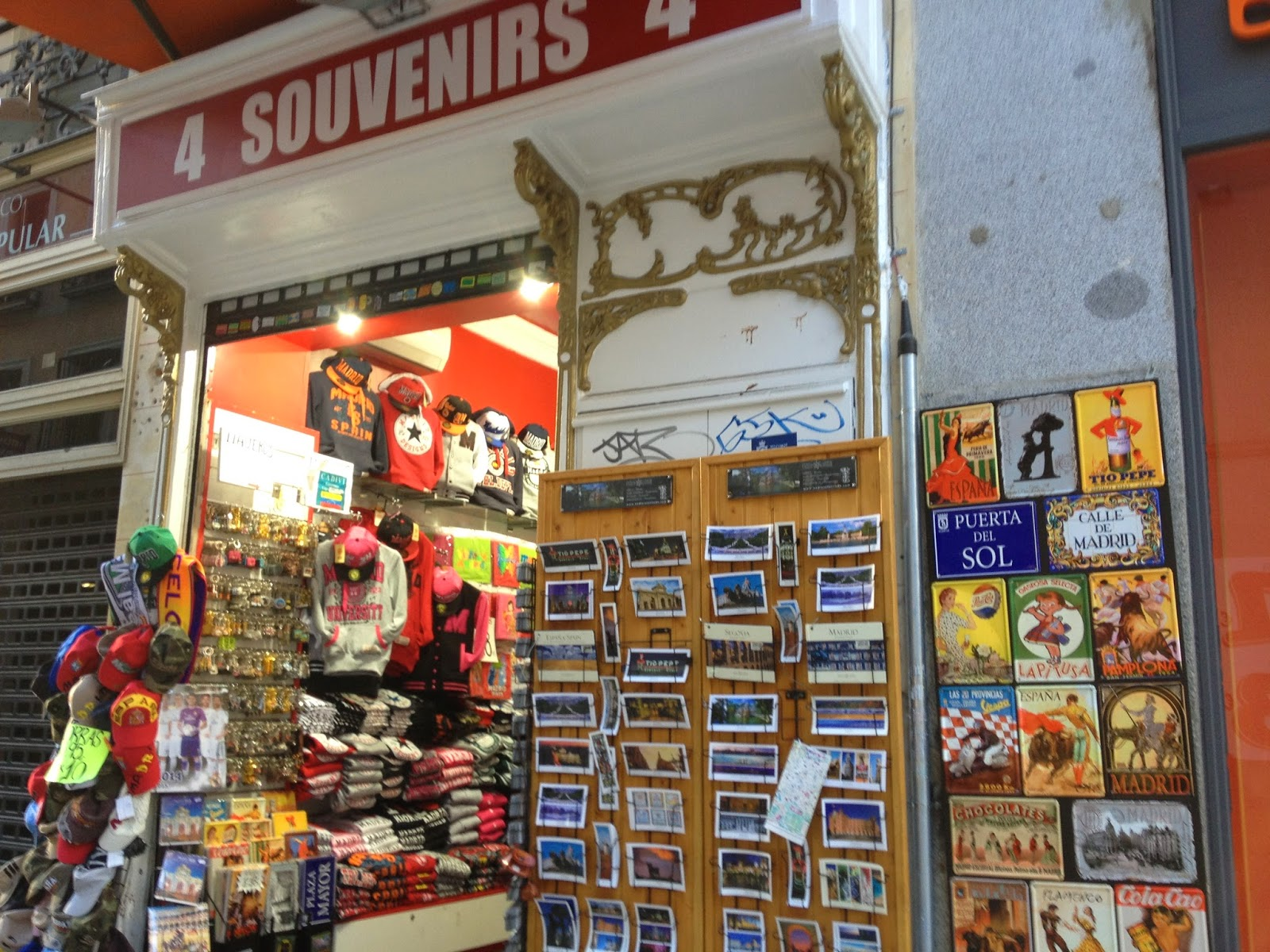 how to say souvenir in spanish